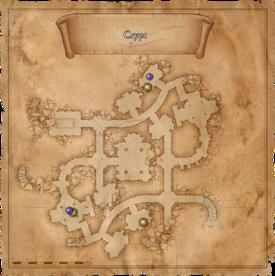 W1 SS Krypty Kultystów mapa