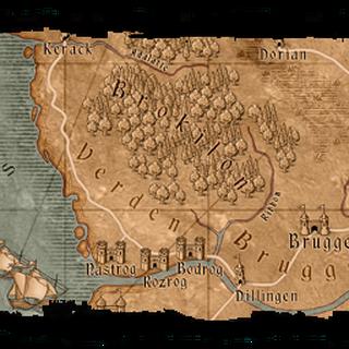 Mapa Verden