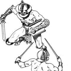 Gladiatorzy inspirowani tymi rzymskimi