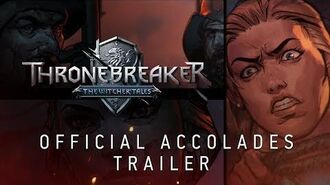 Thronebreaker The Witcher Tales Official Accolades Trailer-0