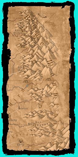 W1 SS Góry Sine mapa