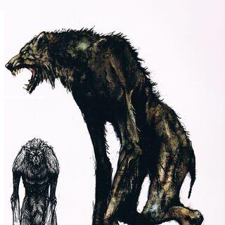Wilkołak w artbooku