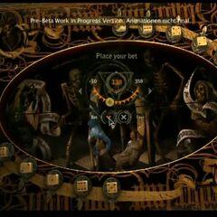 Kościany Poker w Wiedźminie 2