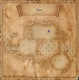 W1 SS Jaskinia na bagnach mapa