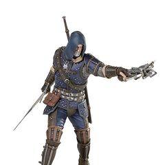 Figurka Geralta w Arcymistrzowskim Rynsztunku Szkoły Kota od Dark Horse
