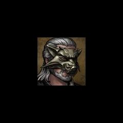 Avatar Geralta w masce wilka