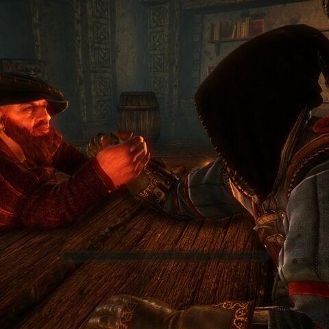 Geralt vs Skalen