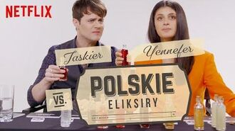 Jaskier i Yennefer vs. polskie eliksiry Wiedźmin Netflix
