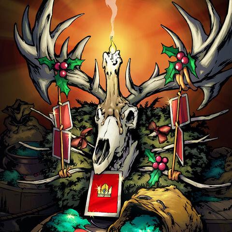 Leszy na grafice paczki świątecznej w <a href=