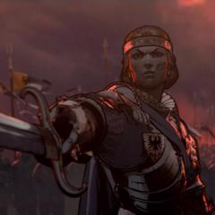 Meve w zwiastunie <i>Wojny Krwi</i>