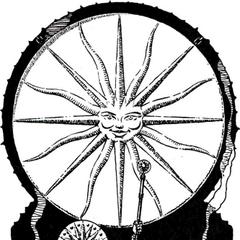 Wyobrażenie nilfgaardzkiego kapłana Wielkiego Słońca