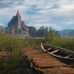 Łódka z widokiem na Oxenfurt