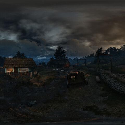 Panorama wioski