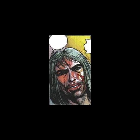 Wizja Geralta, którą zobaczył Korin w chwili śmierci. Kadr z komiksu.