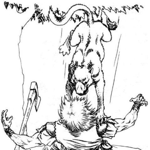 Leszy pod postacią zwierzęcia - wizerunek z Gry Wyobraźni