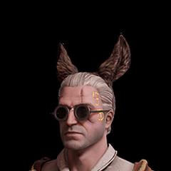 Skórka Geralta z oślimi uszami