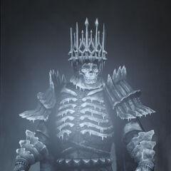 Artwork Króla Dzikiego Gonu w Wiedźminie 3