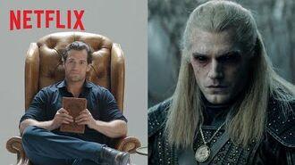 """Wiedźmin czyta """"Wiedźmina"""" Netflix"""