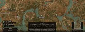 W3 SS Glińsk Mapa