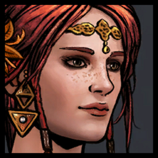 Avatar Triss w alternatywnym stroju w <a href=