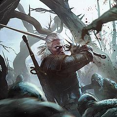 Alternatywna karta Geralta w grze <a href=