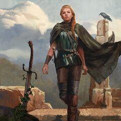 Meve z elfim mieczem