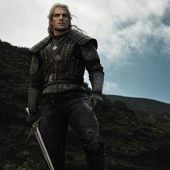 Geralt w serialu <i>Wiedźmin</i> Netflixa