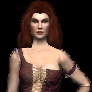 Model Królowej w grze Wiedźmin