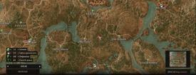 W3 SS Dobrowa Mapa