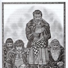 Eist (stojący) na uczcie Pavetty