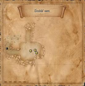 W1 SS Jaskinia druidów mapa