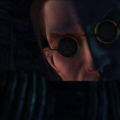 Magister z kuszą w laboratorium Kaer Morhen
