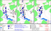 Mapa Bitwy pod Brenną