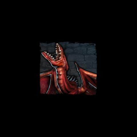 Wizerunek wywerny królewskiej w bestiariuszu