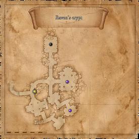 W1 SS Krypta Kruka mapa