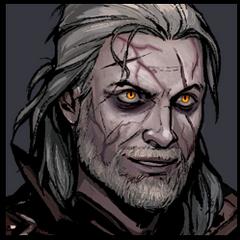 Avatar Geralta pod wpływem eliksirów w <a href=