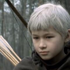 Maciej Łagodziński jako mały Geralt