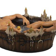 Figurka Geralta kąpiącego się od Dark Horse