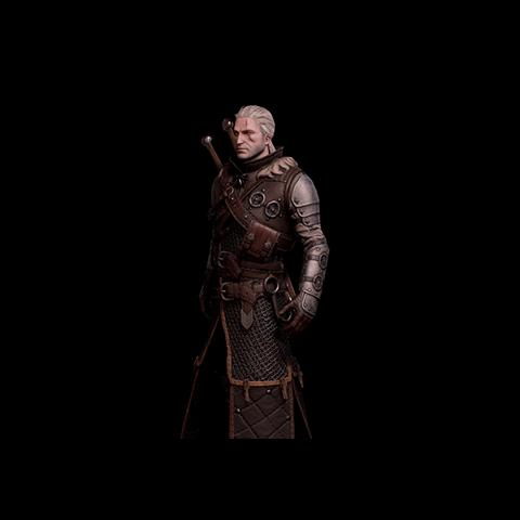 Skórka Geralta w zbroi Niedźwiedzia