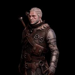 Skórka Geralta w rynsztunku Niedźwiedzia