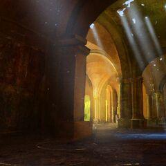 Wnętrze Kaer Morhen - ekran ładowania