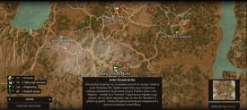W3 SS Ruiny Tesham Mutna Mapa