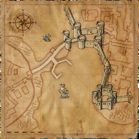 W1 SS Grobla mapa