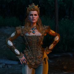 Anna Henrietta czekająca na Geralta
