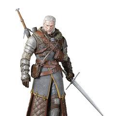 Figurka Geralta w Arcymistrzowskim Rynsztunku Szkoły Niedźwiedzia od Dark Horse