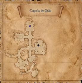 W1 SS Krypta na Polach mapa