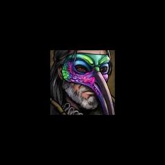 Avatar Geralta w masce papugi
