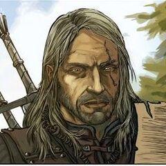 Geralt w komiksie <i>Racja stanu</i>