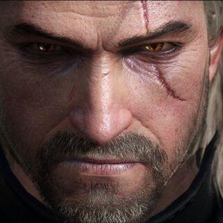 Geralt z nowego zwiastuna