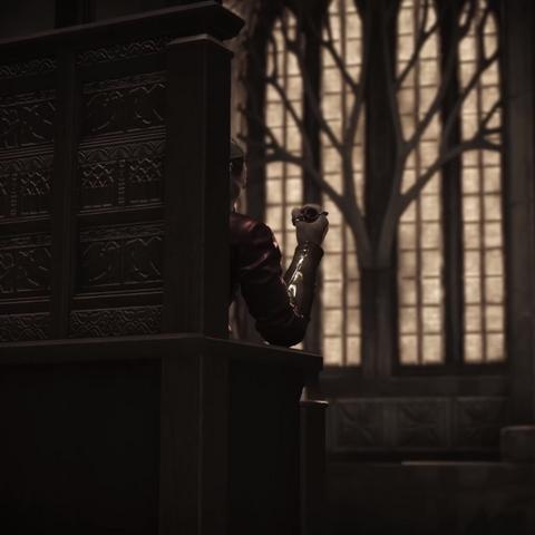 W sali tronowej z fiolką; wizja <a href=